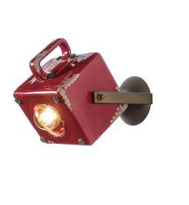Art. SL 150, Aplicación de color rojo, forma cuadrada, estilo retro