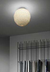 Ball, Plafón de cristal esférico