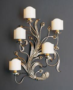 BILLI HL1067WA-5, Lámpara de pared con acabados en oro y plata