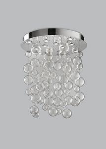 BOLERO H 110, Araña con esferas de vidrio soplado
