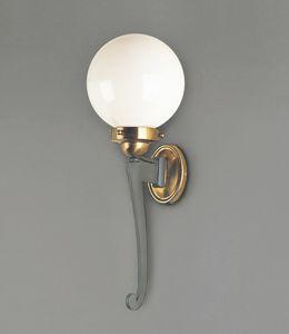 CARPI GL3036WA-1, Lámpara de pared con difusor de esfera
