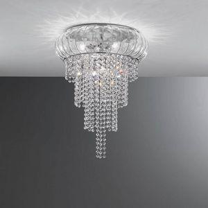 Cascata Sc366-015, Magnífica lámpara de techo en cristal, soplada a mano