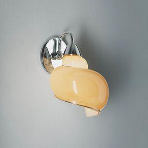 Chiocciola Rb241-025, Lámpara en forma de caracol, en vidrio