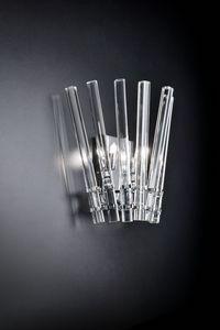 CIRCLE L 27, Aplique en cristal transparente