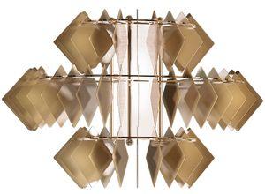 Diamante new applique, Lámpara de pared moderna hecha de acero