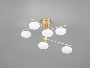 DOLCE H 46, Lámpara de techo con esferas de vidrio