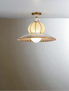 Nonna Vc196-026, Lámpara de techo tradicional, decorada a mano