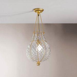 Odalisca Mc128-040, Lujosa lámpara de techo en cristal Boloton