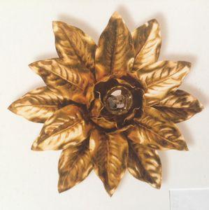 PL.2130/1, Lámpara de techo con decoración de pan de oro
