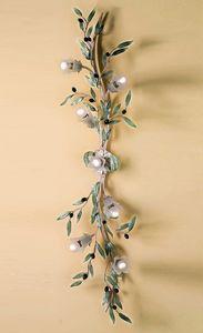 PL.6685/7, Lámpara de pared con forma de rama de olivo