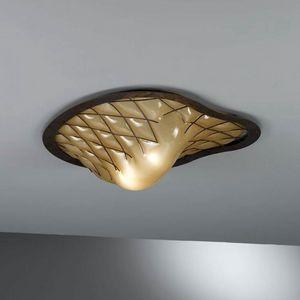 Sant'erasmo Mc415-020, Lámpara de techo en cristal de Murano