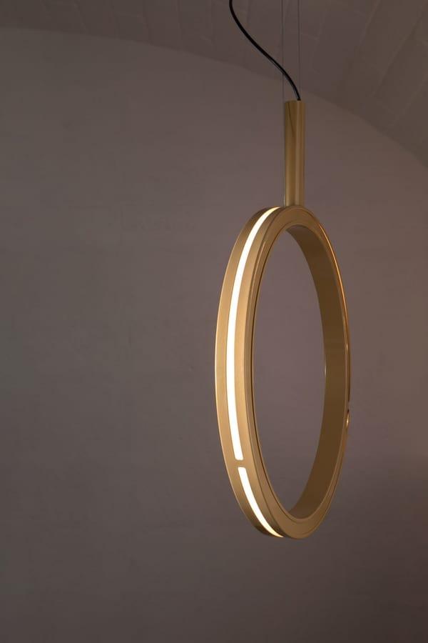 Periplo SE156 B, Lámpara en forma de círculo, con luces LED