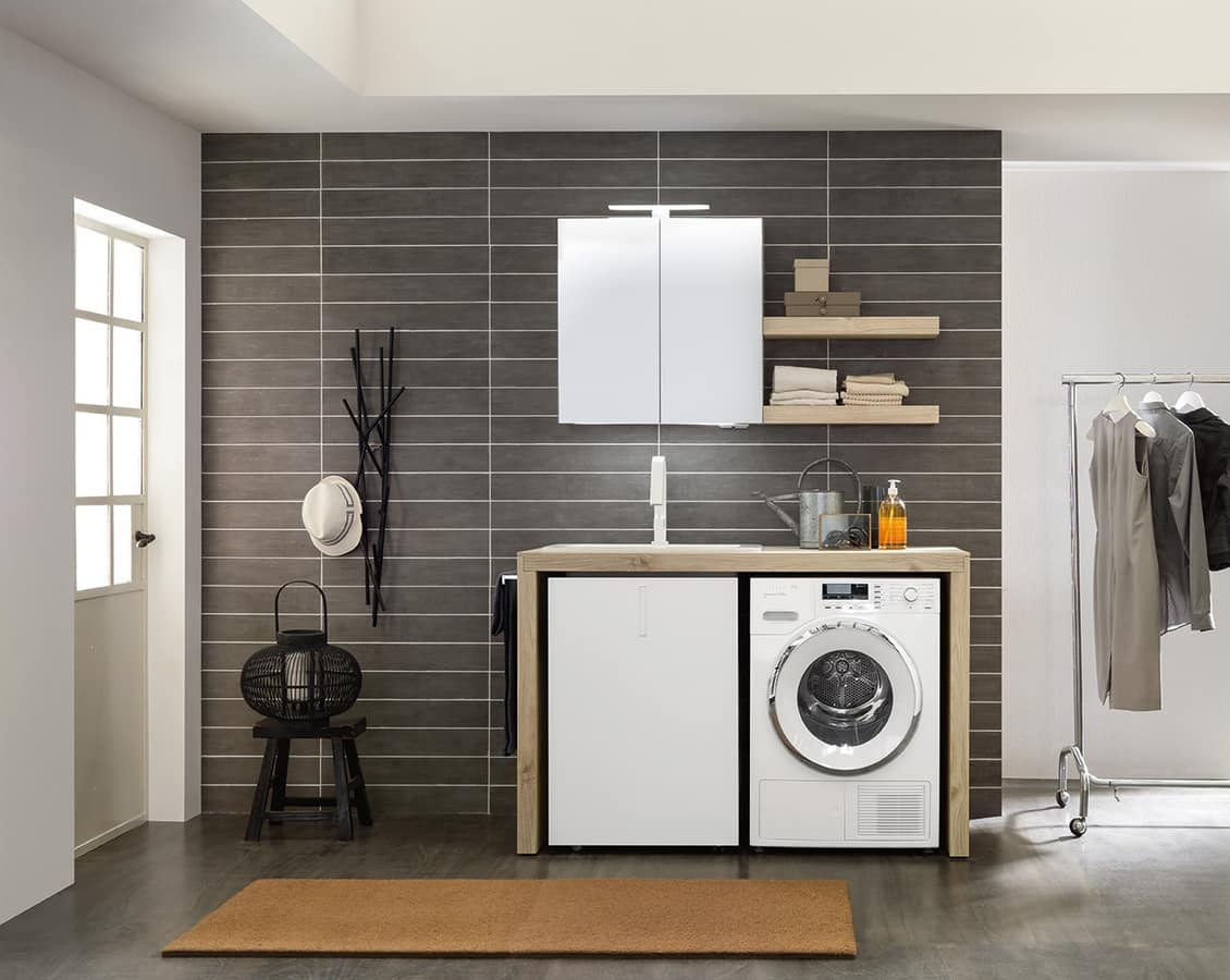 Muebles de lavander a que ahorran espacio idfdesign for Muebles para lavanderia de casa