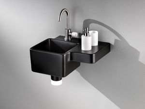 IDEA 2.0 CUBE WASHBOWL, Echarse con bandejas integrados