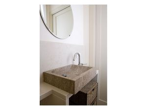 You collection, Lavabo rectangular de piedra, hecho a medida
