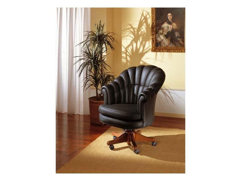 Arlon, Rotatorio sillón para oficina presidencial, en piel