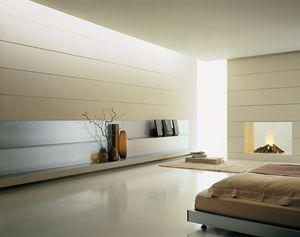 ALL comp.03, Estanterías modernas en aluminio, fina y resistente