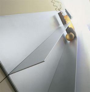 ALL comp.06, Estantes de aluminio para el hogar, líneas simples, delgada