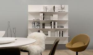 ALL comp.06, Estantería para cuarto de estar, de aluminio, de forma sencilla
