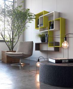 Citylife 51, Estantes para las salas de estar modernas y salas de espera