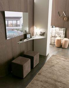 dl800 bonn, Design Estantería de vidrio para casas elegantes