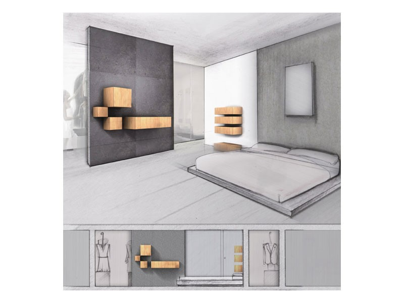 Trealcubo comp.03, Sistema modular para muebles