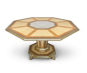 AGNES / mesa, Mesa de lujo con tapa octogonal