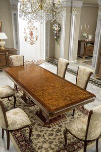 Aida mesa, Mesa elegante con tapa de brezo