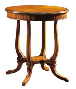 Alberto FA.0111, Madera hechos a mano mesa de café en el estilo Inglés