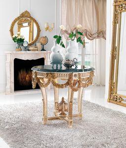 Art. 186, Mesa con tallas preciosas, tapa de mármol