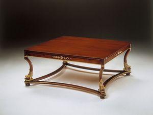 Art. 223/Q Nettuno, Clásica mesa de centro de madera, para la recepción