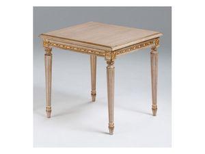 Art. 261/55, Mesa de centro de madera para sala de estar clásico, estilo Luis XVI