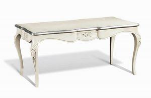 Art. 732, Mesa rectangular clásica con patas sinuosas