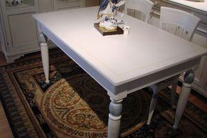 Art. 891, Mesa rectangular lacado, para la cocina clásica
