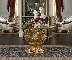 Art. 9090/R Luigi XVI - Versailles, Prestigiosa mesa tallada