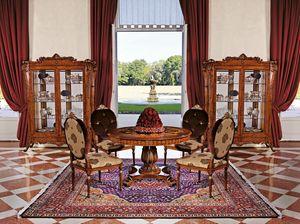 Art. 932, Mesa redonda de comedor, de estilo clásico