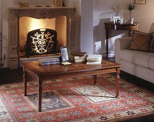 D 503, Mesa de café con incrustaciones florales, en estilo clásico