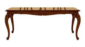 D'Arezzo RA.0675, Tabla de extensión de nogal, para los comedores clásicos