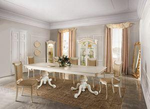 Diamante Art. 2621, Majestuosa mesa de comedor de madera