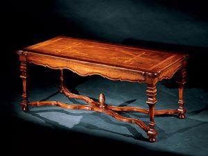 Elena coffee table 762, Pequeña mesa con incrustaciones hechas a mano