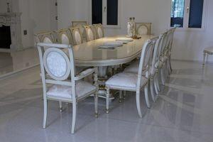 Eolo, Mesa ideales Oval para salas de reuniones y salas de conferencias