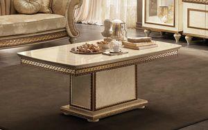 Fantasia Mesita, Mesa de centro con tapa de mármol