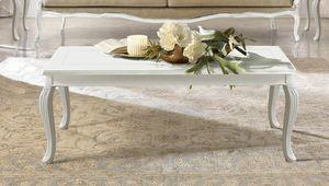 Giulietta Art. 3614 - 3714, Mesa de centro con tapa con incrustaciones