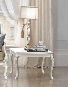 Giulietta Art. 3615 - 3715, Mesa de centro con patas talladas