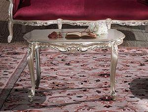 HERMITAGE Mesa de centro, Mesita clásica tallada