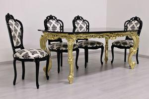 Luxury gold, De lujo mesa tallada,, encimera de granito chapado en oro