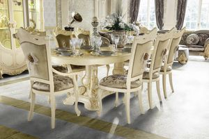 Madame Royale mesa ovalada, Mesa de comedor ovalada