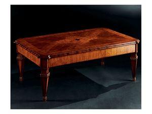 Maggiolini coffee table 798, Mesa de café clásico de lujo en madera tallada