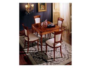 Maggiolini table 799, Mesa cuadrado clásico de lujo