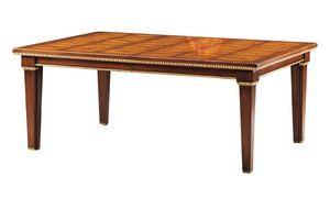 Masaccio RA.0677, Mesa en madera tallada y con incrustaciones de nácar